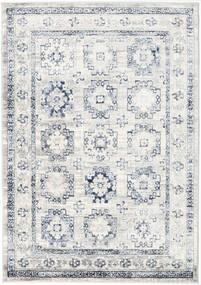 Menara Everyday - Gris/Bleu Tapis 160X230 Moderne Gris Clair/Blanc/Crème ( Turquie)