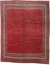 Sarough Mir Tapis 290X361 D'orient Fait Main Rouge Foncé/Rouge Grand (Laine, Perse/Iran)