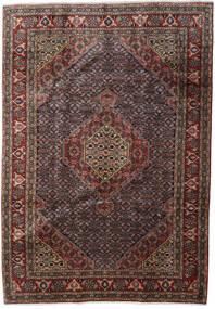 Ardabil Tapis 200X286 D'orient Fait Main Marron Foncé/Gris Foncé (Laine, Perse/Iran)