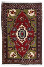 Gabbeh Kashkooli Tapis 80X122 Moderne Fait Main Rouge Foncé/Gris Foncé (Laine, Perse/Iran)