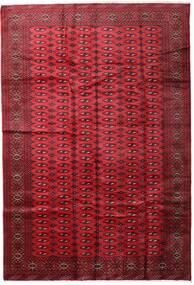 Turkaman Tapis 197X285 D'orient Fait Main Rouge Foncé/Rouge (Laine, Perse/Iran)