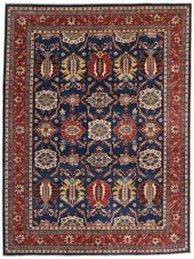 Kazak Tapis 268X359 D'orient Fait Main Violet Foncé/Rouge Foncé Grand (Laine, Afghanistan)