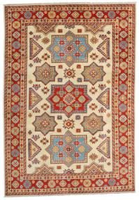 Kazak Tapis 201X288 D'orient Fait Main Marron Clair/Rouille/Rouge (Laine, Afghanistan)