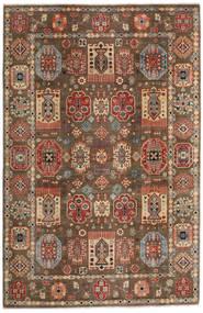 Kazak Tapis 197X299 D'orient Fait Main Marron Clair/Marron Foncé (Laine, Afghanistan)
