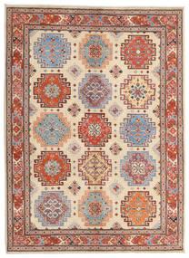 Kazak Tapis 175X238 D'orient Fait Main Beige/Marron Clair (Laine, Afghanistan)
