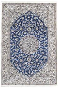 Naïn 9La Tapis 203X297 D'orient Fait Main Gris Clair/Beige (Laine/Soie, Perse/Iran)