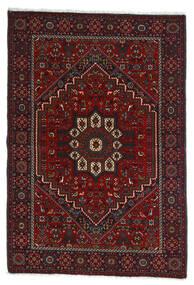 Gholtogh Tapis 107X154 D'orient Fait Main Rouge Foncé/Marron Foncé (Laine, Perse/Iran)