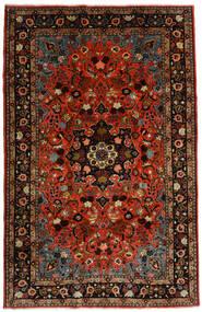 Mehraban Tapis 188X290 D'orient Fait Main Rouge Foncé/Rouille/Rouge (Laine, Perse/Iran)