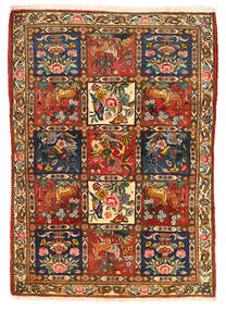 Bakhtiar Collectible Tapis 115X155 D'orient Fait Main Marron Foncé/Rouge (Laine, Perse/Iran)