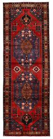 Hamadan Tapis 102X297 D'orient Fait Main Tapis Couloir Rouge Foncé/Marron Foncé (Laine, Perse/Iran)