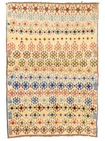 Moroccan Berber - Afghanistan Tapis 82X194 Moderne Fait Main Tapis Couloir Beige Foncé/Beige (Laine, Afghanistan)