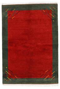 Gabbeh Indo Tapis 170X238 Moderne Fait Main Rouille/Rouge/Vert Foncé (Laine, Inde)