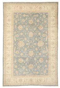 Ziegler Tapis 193X296 D'orient Fait Main Marron Clair/Beige Foncé (Laine, Afghanistan)