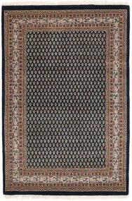 Mir Indo Tapis 125X183 D'orient Fait Main Noir/Marron Foncé (Laine, Inde)