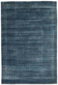 Gabbeh Loribaft Tapis 192X278 Moderne Fait Main Noir/Bleu Foncé (Laine, Inde)