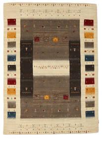 Loribaf Loom Tapis 170X237 Moderne Fait Main Marron Foncé/Marron Clair (Laine, Inde)