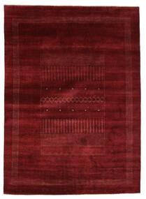 Gabbeh Loribaft Tapis 205X284 Moderne Fait Main Noir/Beige (Laine, Inde)